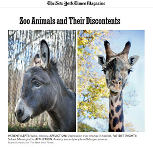 Zoo Animals and Their Discontents July 3, 2014 New York Times Magazine