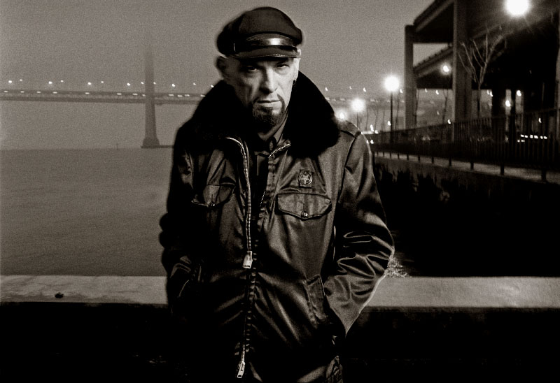 Anton LaVey, author of the Satanic Bible, photographed at 5am (his request) in San Francisco