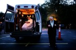 "The van doors open and the lift lowers the bride to the ground, just outside the reception hall in New Horizons Village. Her groom waits patiently in the dusk of the evening, arms raised in anticipation. A small crowd of waiting guests has gathered to welcome them at the Great Hall at New Horizons Village. ""Sometimes, we disabled people build up our own walls,"" says Tom. ""But I can't. And I won't."""