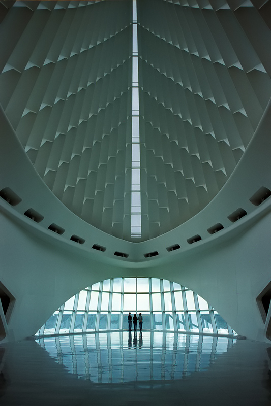 The Milwaukee Art Museum, Wisconsin, 2004.