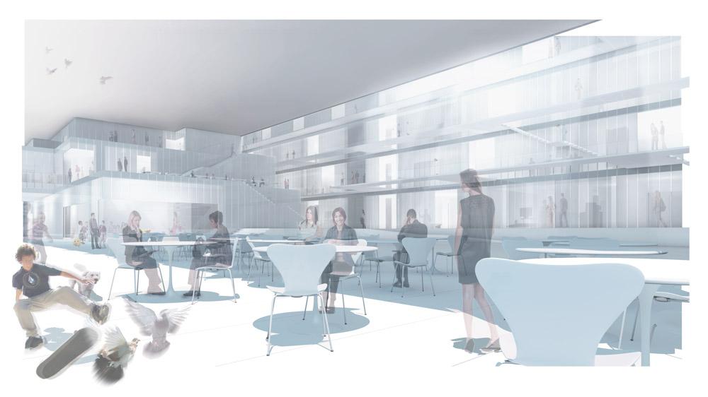 (ris-chabloz 2010)Projet :Centre Biotechnologique et services communauxLocaux pour start-up et entreprises - Caserne de pompierCrêche - Restaurant - Commerces - parking - Centrale thermique SIGPlan-les-Ouates - Genève - SuisseSurface :26'500 m2Date :2010Chef de projet :César BESADAMandat :Concours