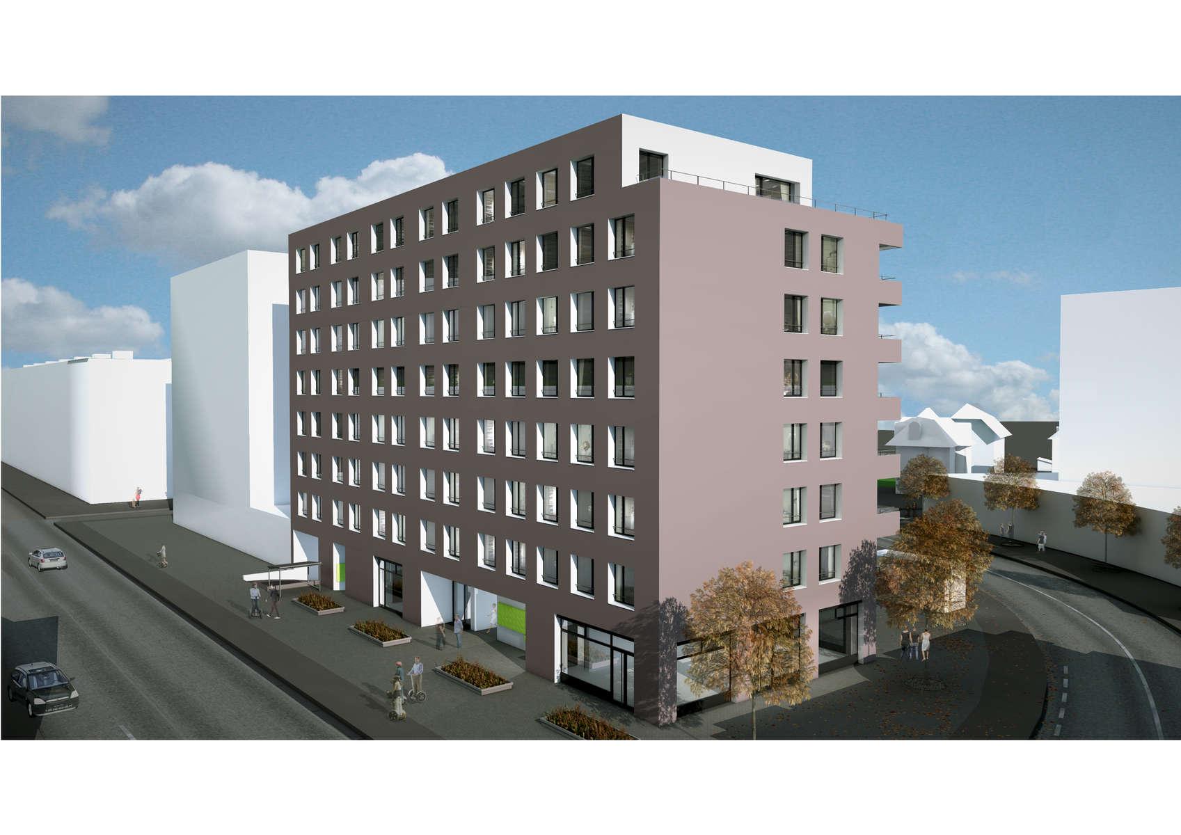 (ris-chabloz 2011-2017)Projet: Construction de bâtiments de logements et parking souterrainGenève - SuisseSurface: 5'159 m2 SBPChef de projet:Antoine RisMandat: Projet et réalisation