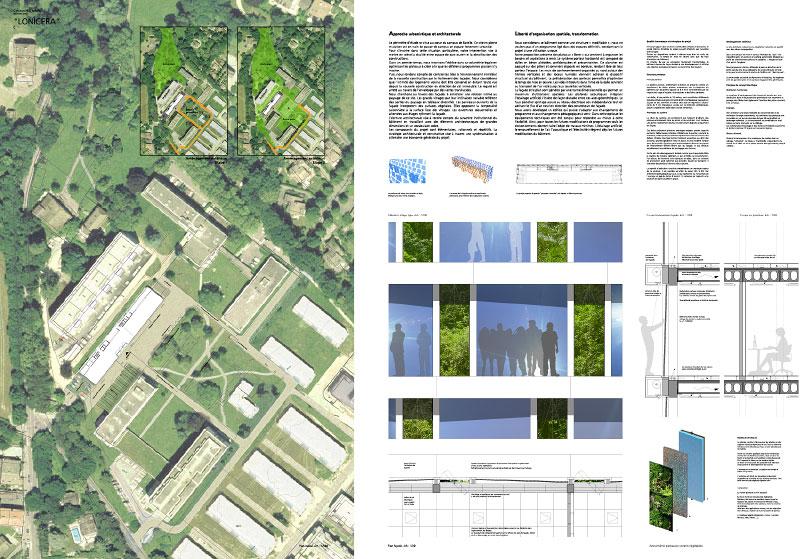 (ris-chabloz 2005)Projet:Haute école de gestionGenève - SuisseSurface:7'600 m2Date:2005Chef de projet:Nicola ChongJulia SubletMandat:Concours national- 4ème prix