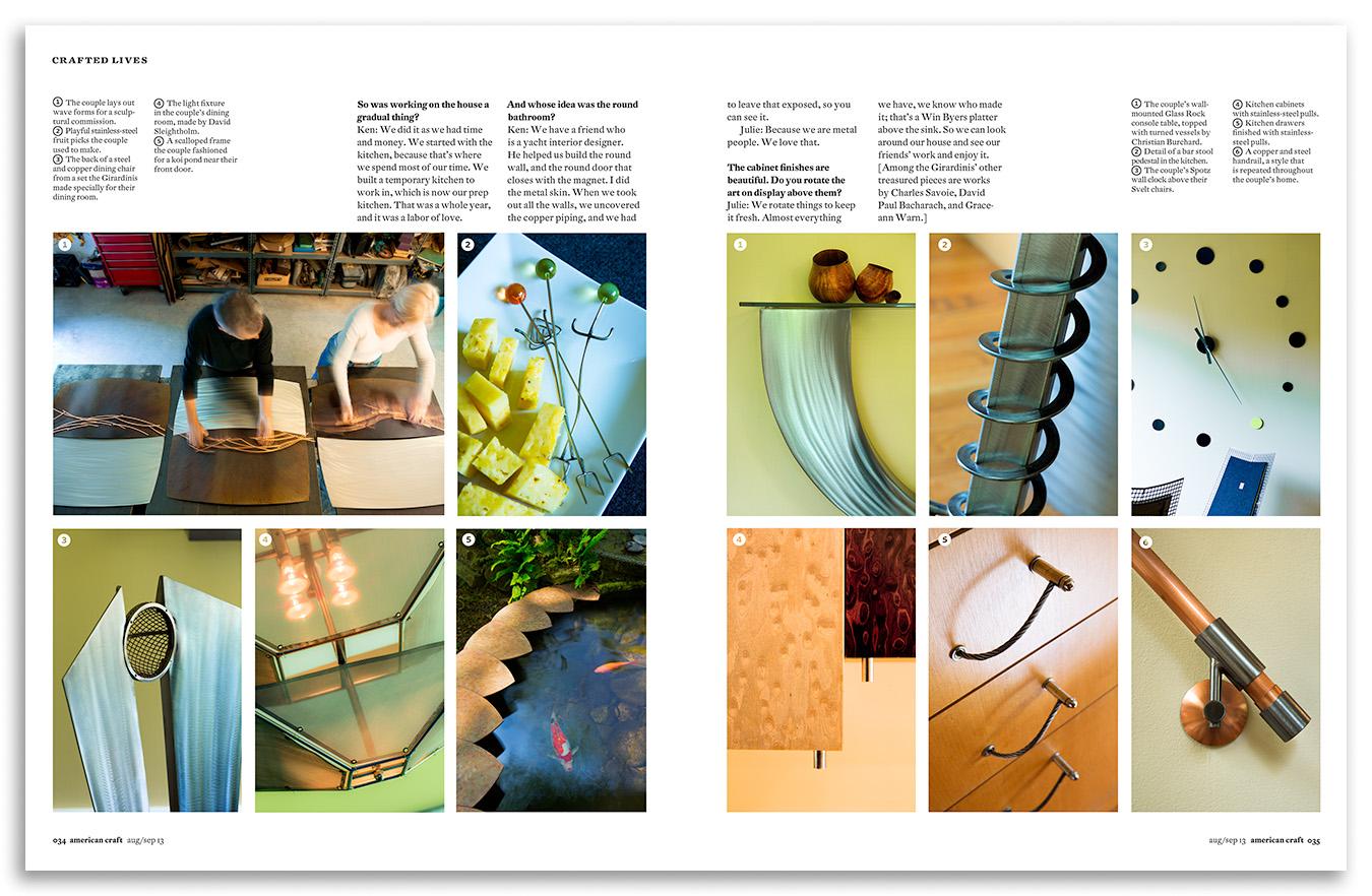 Client: American CraftDesign: Hopkins/Baumann