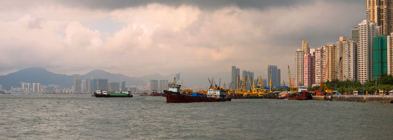 view from Kennedy TownHong Kong