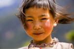girl in the windYunnan Province, China