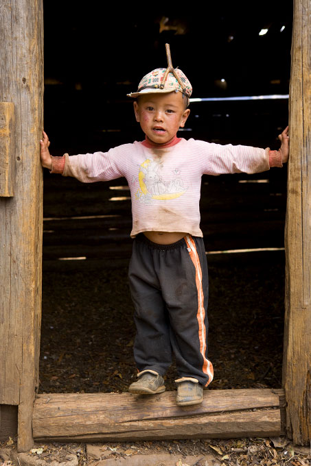 boy in the Wenhai ValleyYunnan Province, China