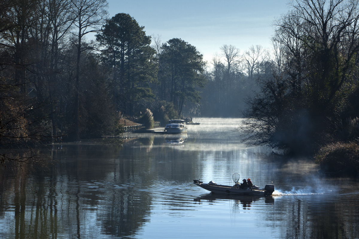the Trent River near Pamlico SoundPollocksville, North Carolina