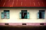 muslim villager in window of his home near Padang Panjang, West SumatraIndonesia
