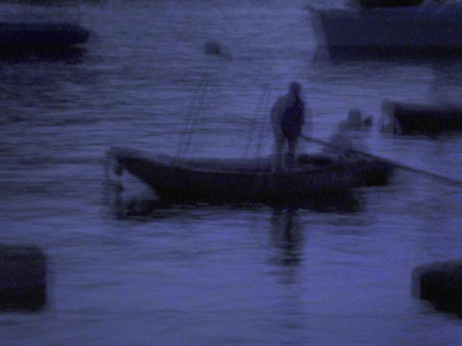 fisherman on Deepwater Bay Hong Kong