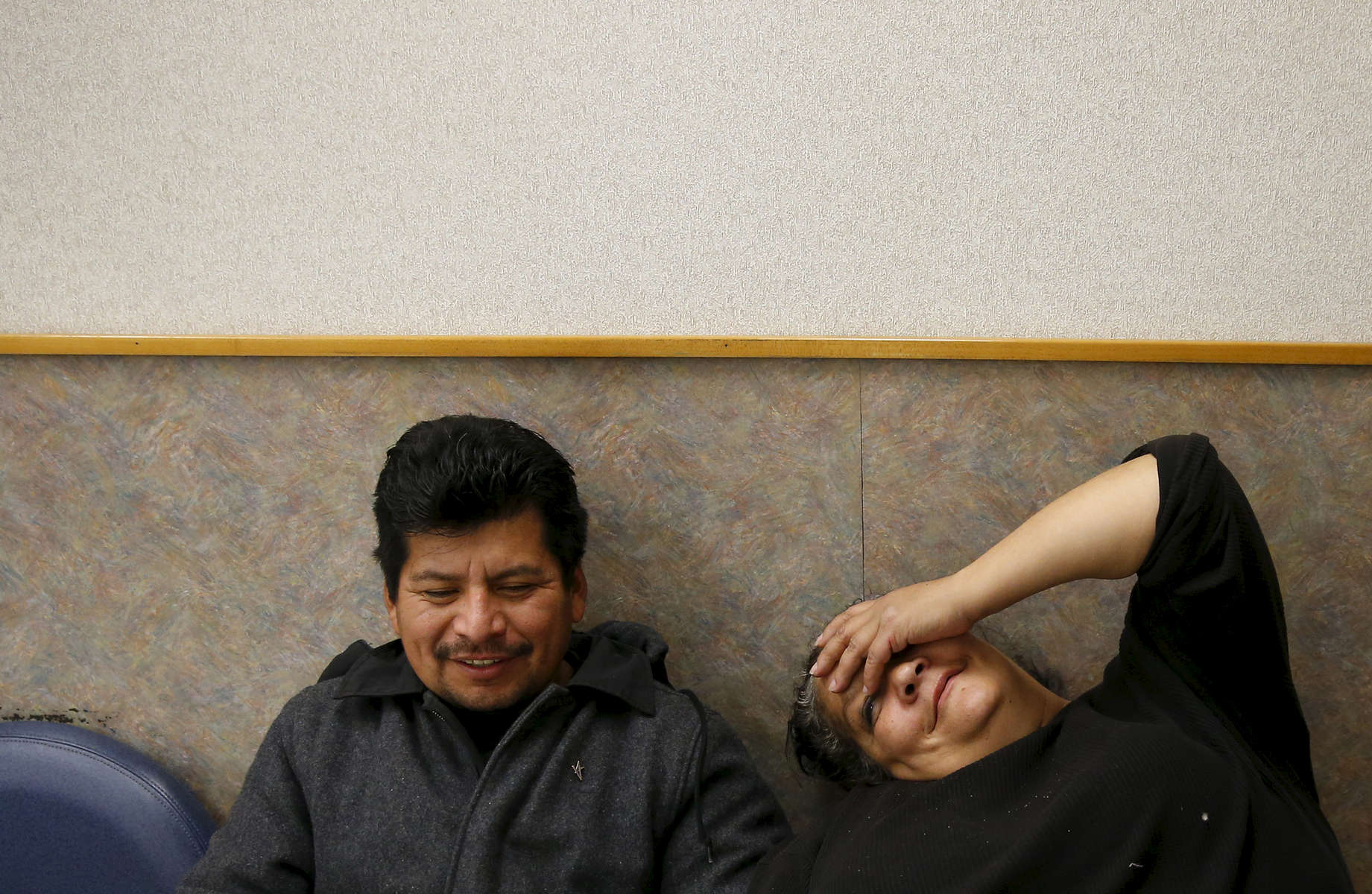 Raquel's husband, Jose, sits with Raquel at Walgreens to keep her company as she waits for her nine prescriptions. Jose was different from the other men who had been in Raquel's life. He drank too much, but he didn't do drugs. He was quiet, supportive and he stuck around.