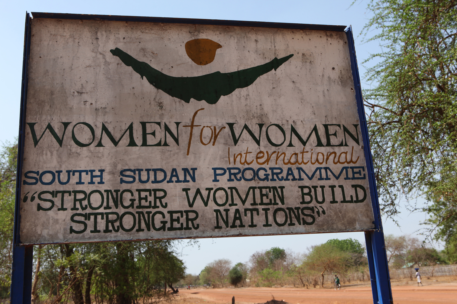 Women for Women International Sudan Chapter new site for the Women's Bakery in Rumbek East, Lakes State, South Sudan.