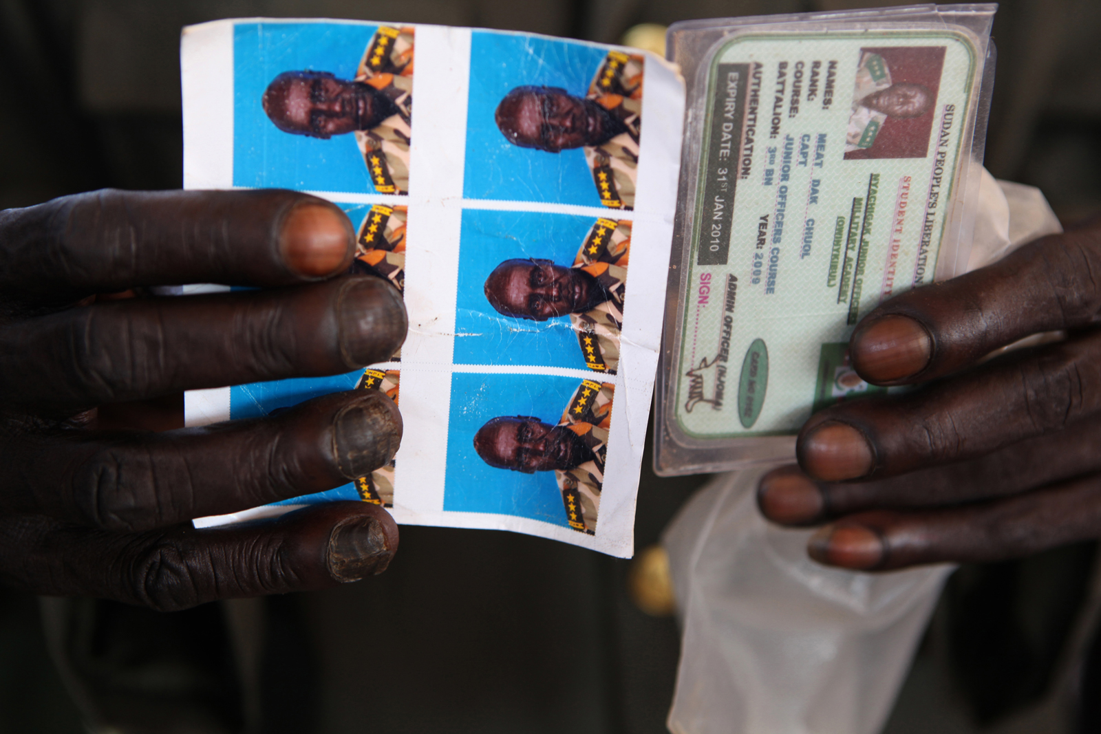 7.	The countdown to the referendum has begun. After decades of civil war, the majority of South Sudanese people are expected to vote for independence, which would mark the 54th African nation. Here, the Sudan People's Liberation Army (SPLA) register to vote at the BILPAM army headquarters in Juba.