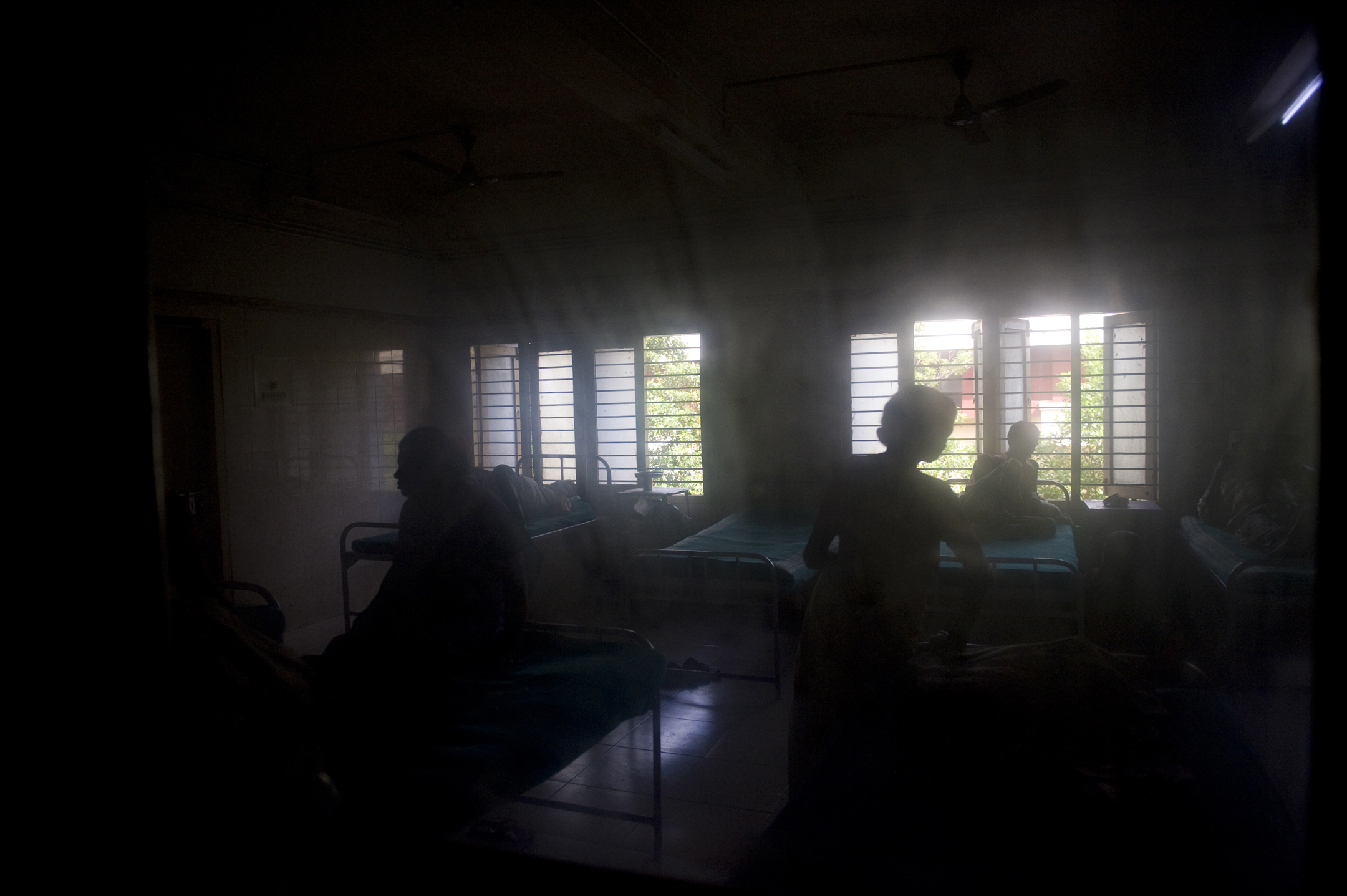 Hepatitis+ patients at the Lok Nayak Hospital in Delhi, India.