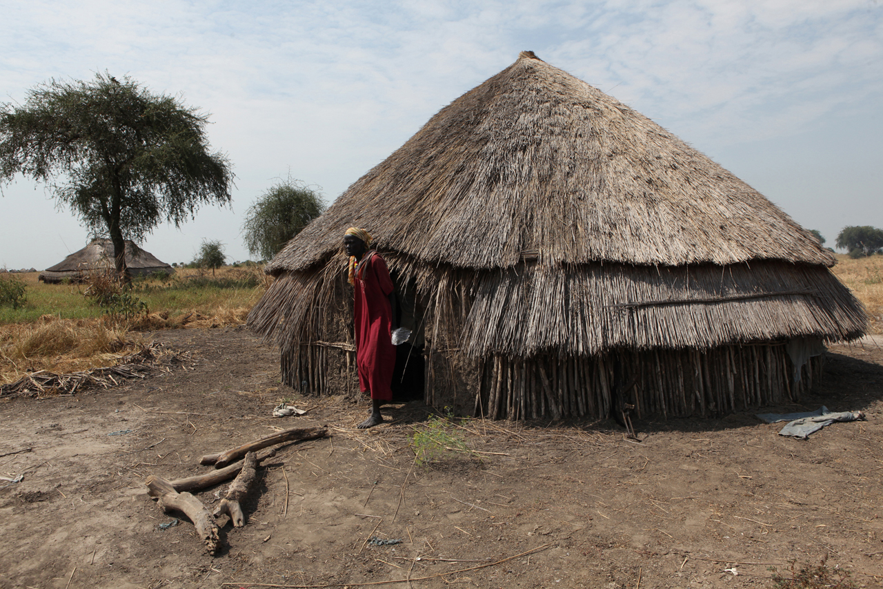 Nyalol Dol, from Torkej, is squatting in a tukul built for cattle while dismantling her tukul to sell the wood and grass for food. Torkej, Jikany Nuer territory, was attacked on 8 May by the larger Lol Nuer tribe, and is vulnerable to repeated cattle raids and attacks because of their placement on the river and proximity to Lol Nuer lands. Nyalol's 5 children were all killed in the nighttime raid, and she is terrified to return home for fear of another violent attack. The Lol Nuer are perpretrators of repeated cattle raids and attacks against the Dinka, Murle, and Jikany Nuer sub-tribe. Tribal violence overall in Southern Sudan has dramatically increased in 2009, with over 2000 deaths, more people than have been killed in Darfur.