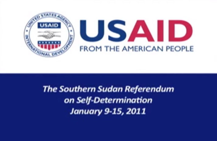 South Sudan's Referendum on Self-Determination, 9 January 2011Filmed and edited as part of USAID DOC services in South Sudan, this video follows the journey of the country's referendum for independence from Sudan.On 9 July 2011, South Sudanese were excited, nervous and looking forward to a brighter future. South Sudan became the newest country on earth and her citizens had great hopes for what they could achieve with self-determination.Four years later, South Sudan is mired in civil war, tens of thousands are displaced and seeking shelter in UNMISS camps across the country, and thousands more are on the brink of starvation.