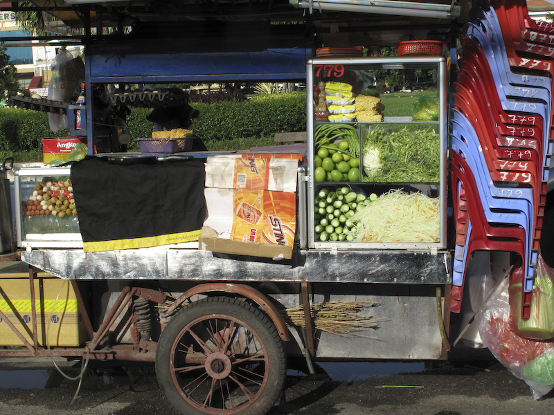 Food stall, Phnom Penh