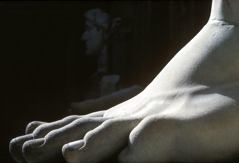 Constantine's foot, Rome