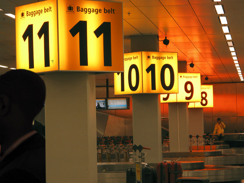 Baggage claim, Schiphol Airport