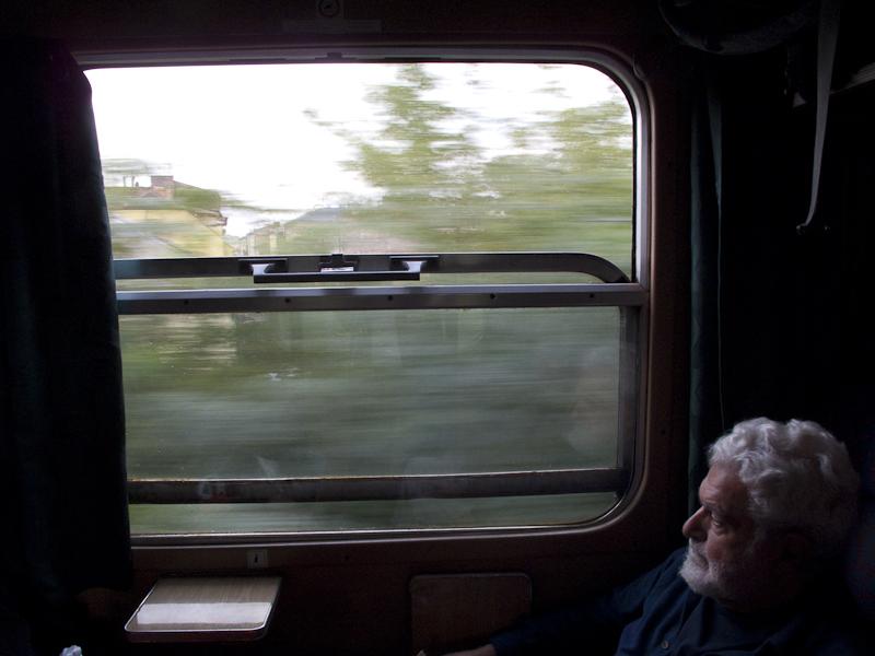 By train, Krakow to Przemysl,  Poland
