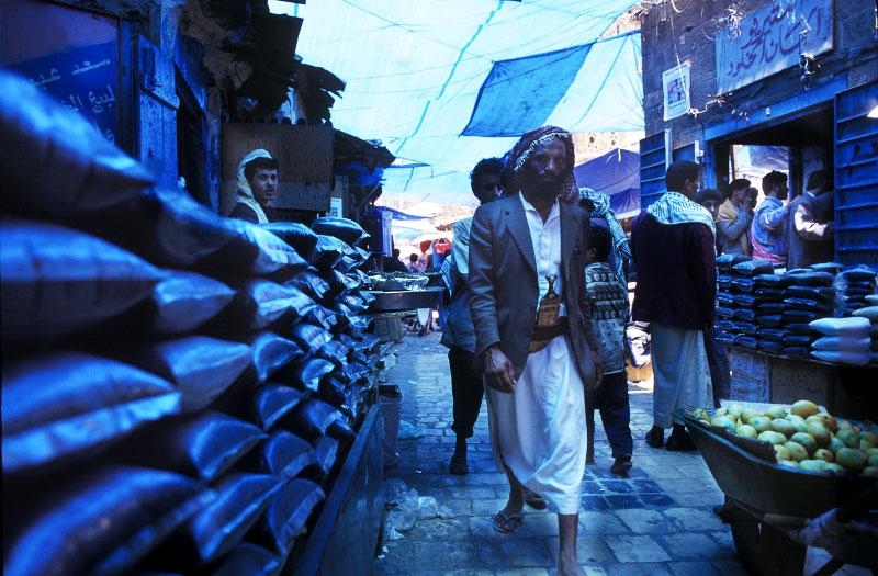 Tea soukSana'a, Yemen