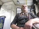 Bus rider, Chernivsti, Ukraine
