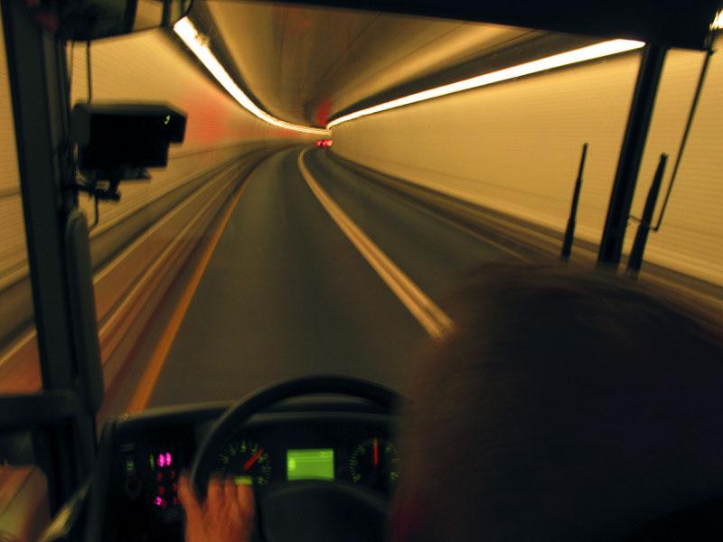 Lincoln Tunnel via Vamoose, NYC to Washington DC