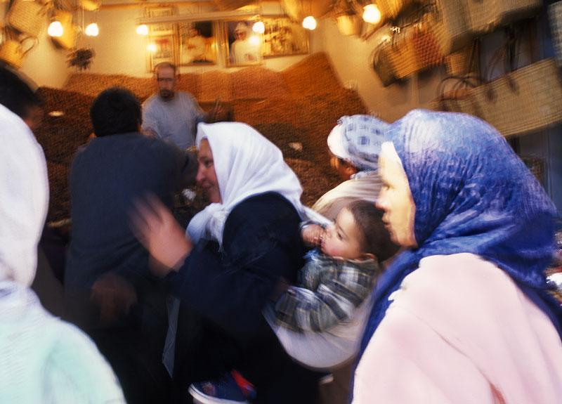 Women shoppingFes, Morocco