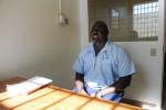 PONTIAC, ILLINOIS. Alnoraindus Burton, a victim of torture under former police commander Jon Burge, at Pontiac Correctional Center on November 8, 2017.