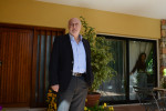 NICOSIA, CYPRUS.  Stavros Agriotis, a Cypriot financial services executive, is seen in his home office on March 28, 2013.