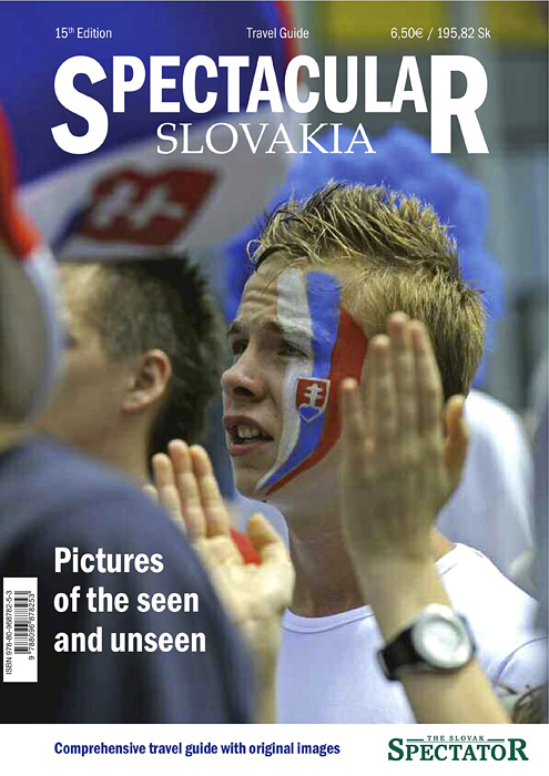 SPECTACULAR SLOVAKIA 2010 GUIDEa special publication of The Slovak Spectator(Slovakia)Bratislava City Section, Cover.Release Date: September 13, 2010