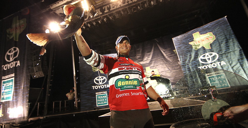 29 October 2011: during the Toyota Texas Bass Classic at  in Conroe, Texas on October 29, 2011. (Jason E. Miczek - www.miczekphoto.com)