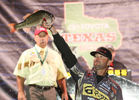 29 October 2011: during the Toyota Texas Bass Classic at  in Conroe, Texas on October 29, 2011. (Jason E. Miczek - www.chriskeane.com)