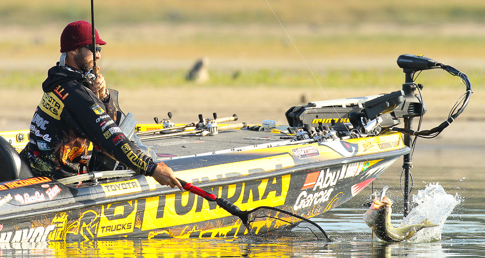 30 October 2011: during the Toyota Texas Bass Classic at  in Conroe, Texas on October 30, 2011. (Jason E. Miczek - www.chriskeane.com)