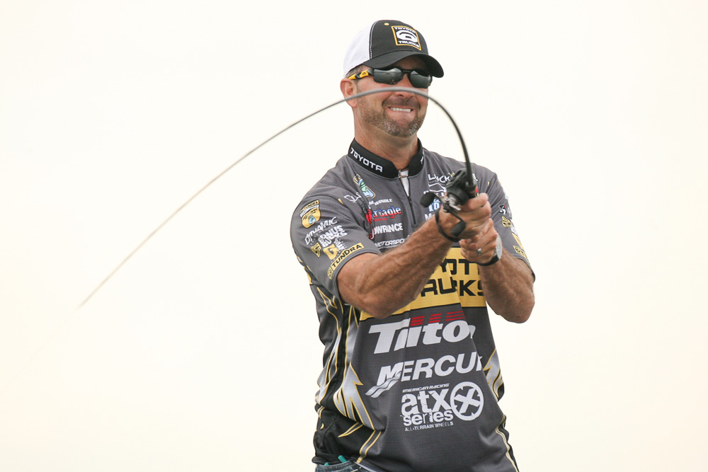 27 October 2011: during the Toyota Texas Bass Classic at  in Conroe, Texas on October 27, 2011. (Jason E. Miczek - www.chriskeane.com)