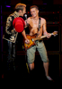 David Lee Roth, left, and Eddie Van Halen perform their song \{quote}Runnin\' With The Devil\{quote} during Van Halen\'s concert Thursday (9/27/07) night at Charlotte Bobcats Arena in uptown Charlotte, N.C (AP Photo/Jason E. Miczek).