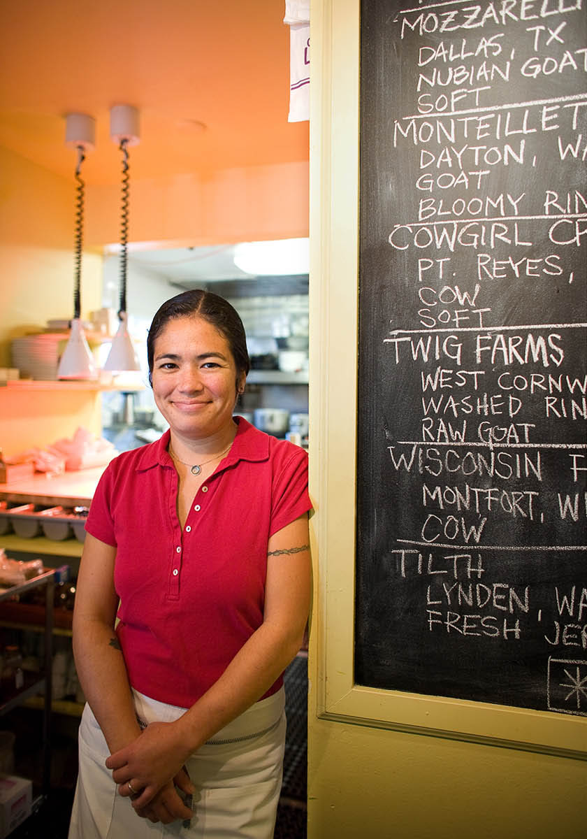 Maria Hines, Tilth Restaurant.