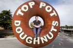 Michael Klebeck, originator of Top Pot Doughnuts.