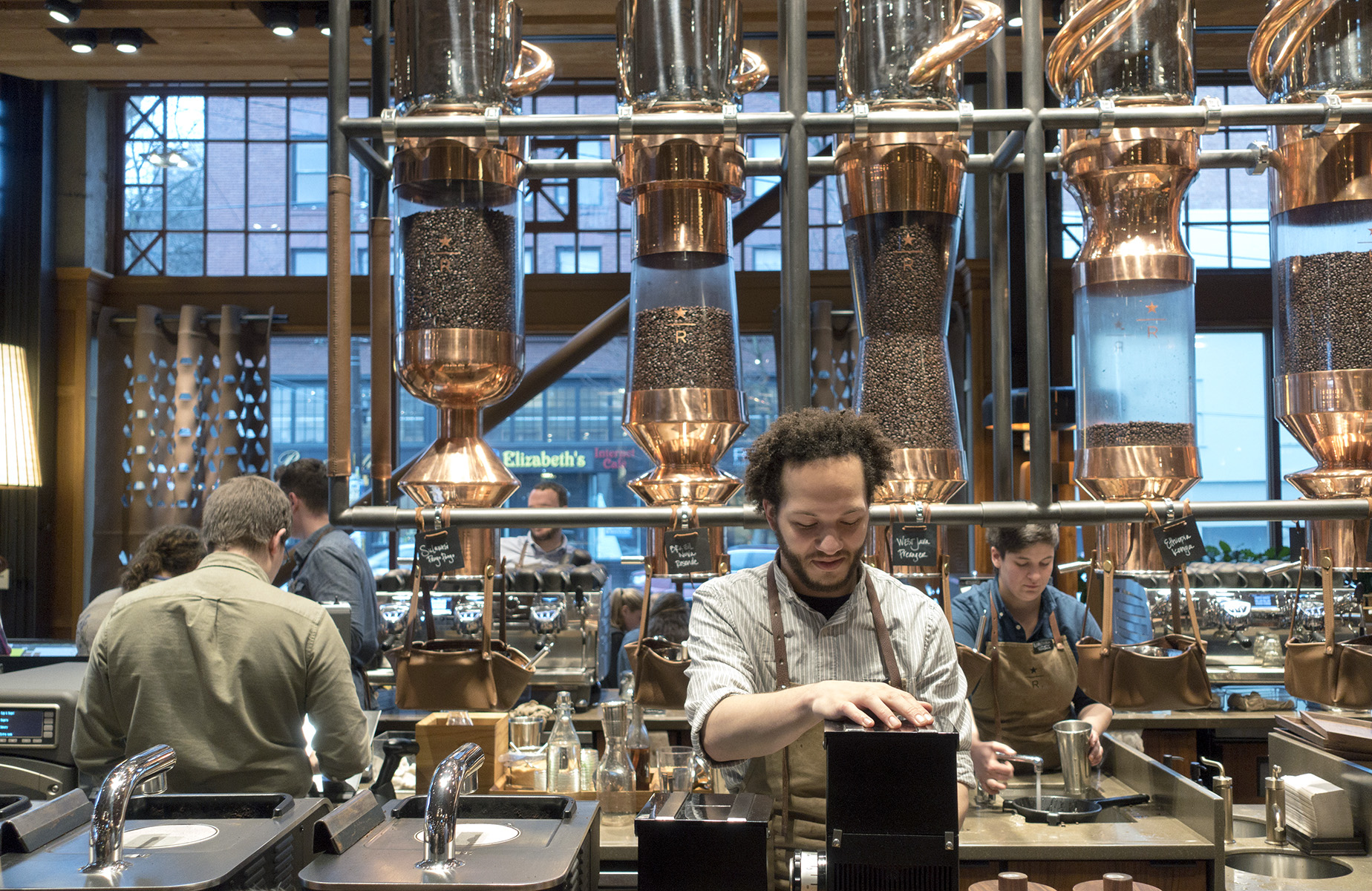 Starbucks Reserve Roastery & Tasting Room.