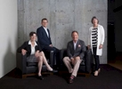 Summit Law Group, Seattle, WA. Shannon Phillips, Phil McCune, Ralph Palumbo, and Polly McNeil, left to right.