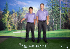 Cheng Tsung Pan and Chris Williams, University of Washington golfers.