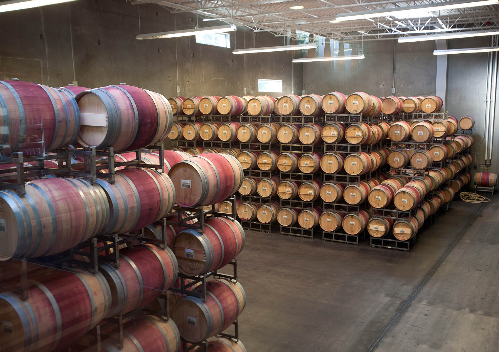 Wine_NoveltyHill_Barrels