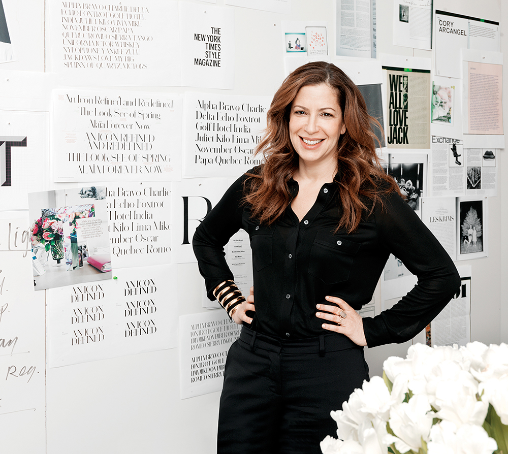 Deborah Needleman Editor in Chief of T: The New York Times Style Magazine