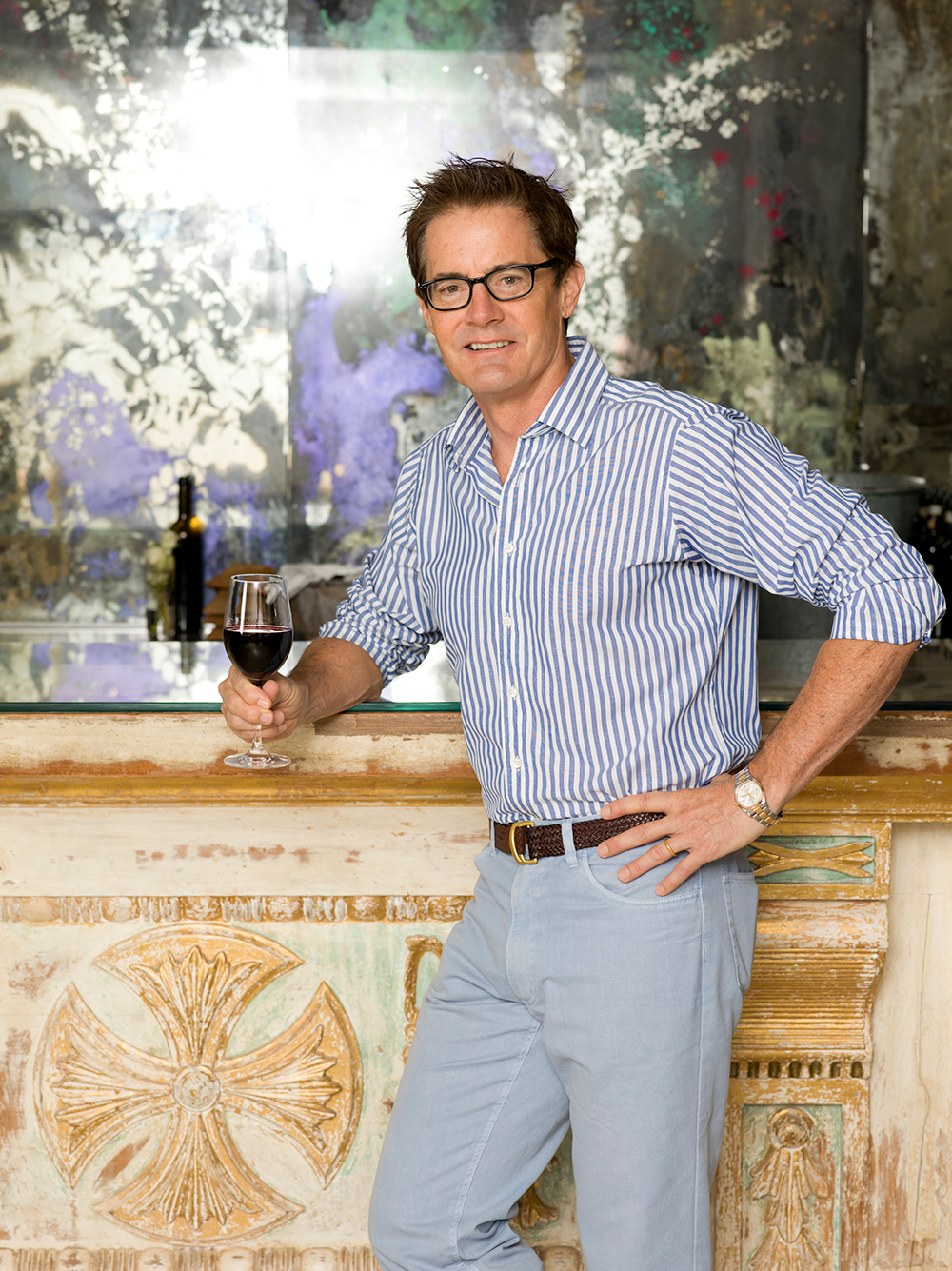 `Actor Kyle MacLachlan at ABC Kitchen in New York