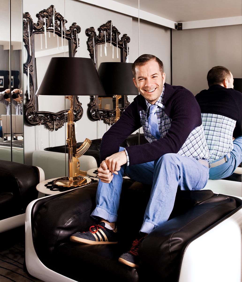 Designer Marlon Gobel