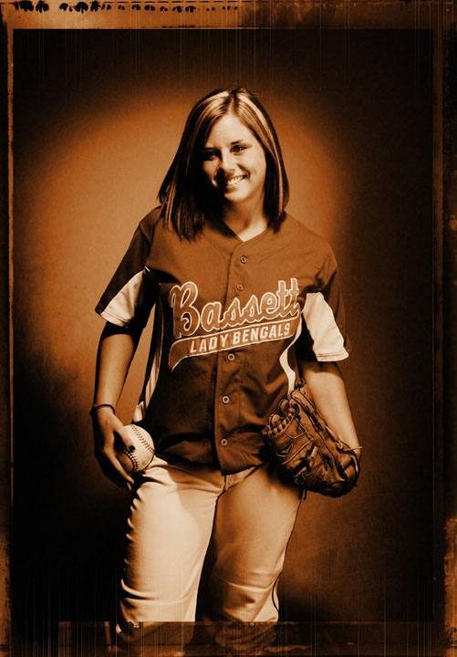 Timesland softball player of the year 2010 -- Lauren Snead, Bassett.