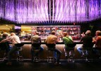 Aurora lobby bar, Luxor hotel-casino