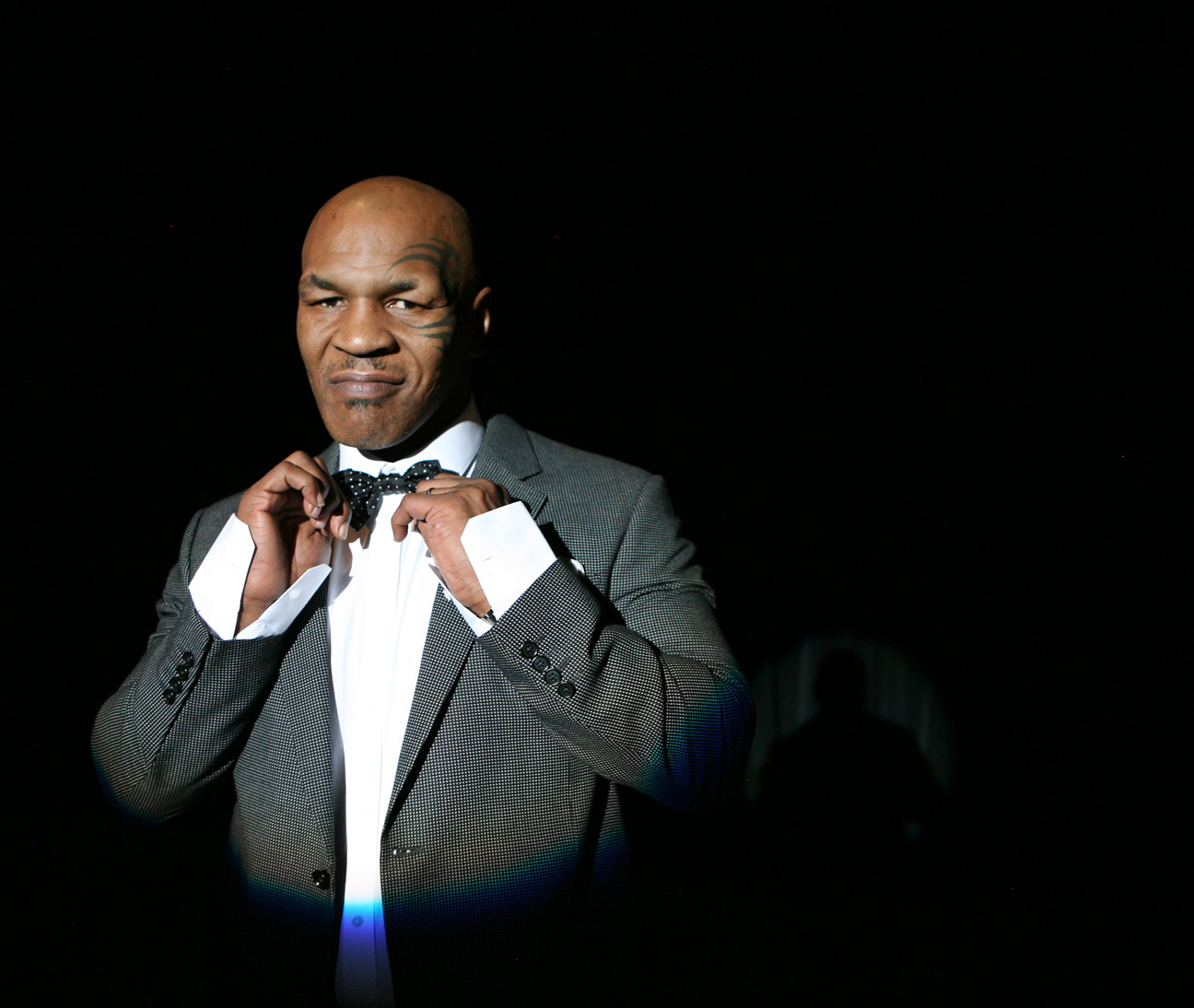 Mike Tyson is photographed for his upcoming show at the MGM Grand hotel-casino Saturday, March 3, 2012.