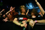 Fans rock out to Limp Bizkit during a performance at the House of Blues inside Mandalay Bay hotel-casino.