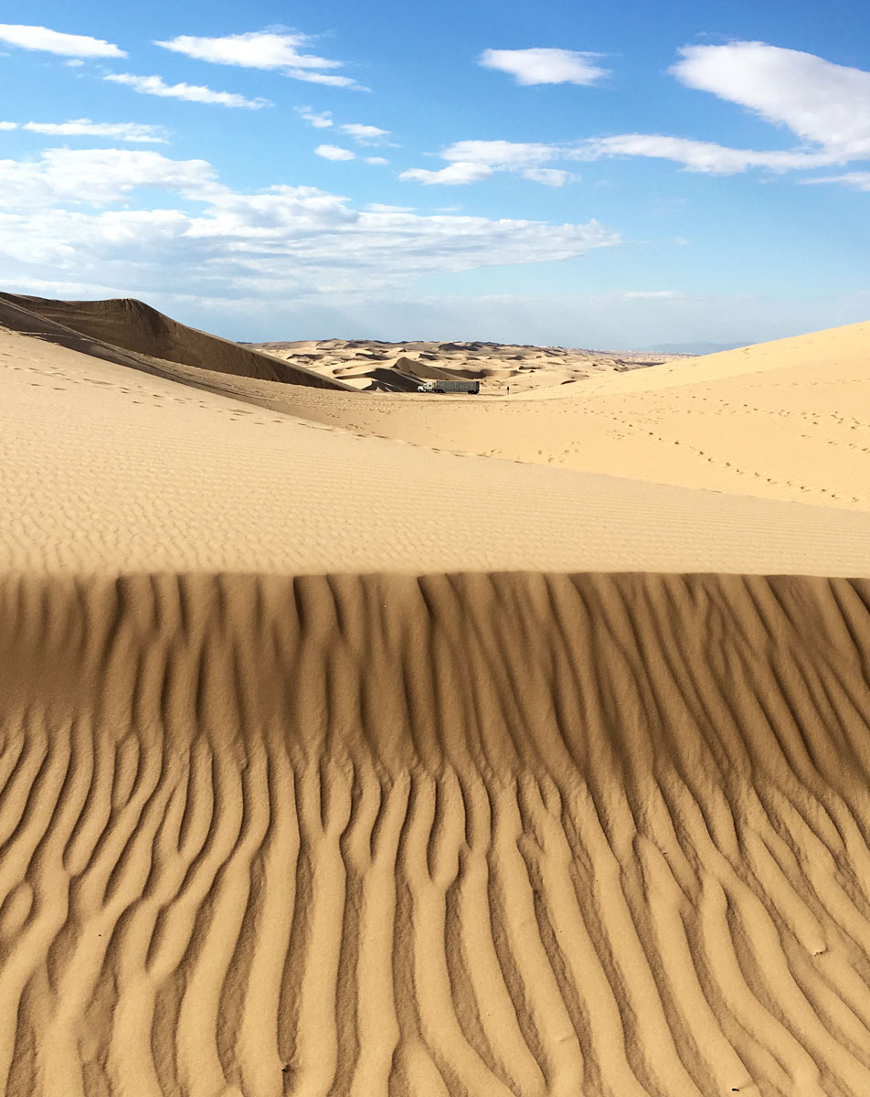Glamis Sand Dunes, Imperial County, California